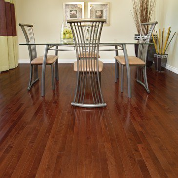 Reddish-brown Yellow Birch Hardwood flooring / Canyon Mirage Admiration / Inspiration