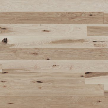 Natural Hickory Hardwood flooring / Natural Mirage Herringbone