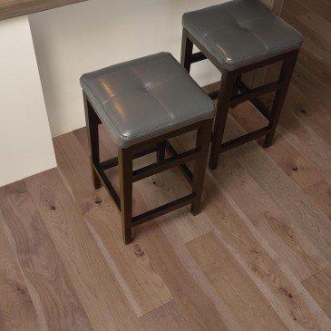 Grey Hickory Hardwood flooring / Greystone Mirage Admiration / Inspiration