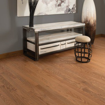 Golden Red Oak Hardwood flooring / Stanford Mirage Alive / Inspiration