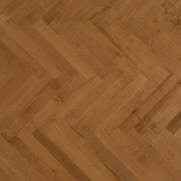Golden Maple Hardwood flooring / Sierra Mirage Herringbone