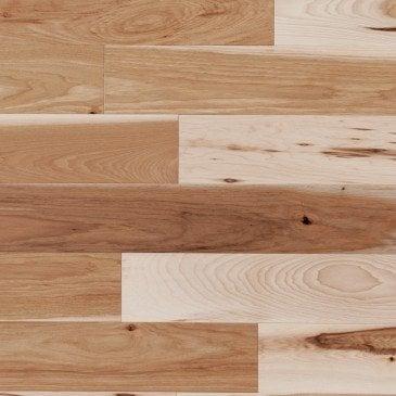 Natural Hickory Hardwood flooring / Natural Mirage Natural
