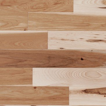 Hickory Caractère Lisse - Image plancher