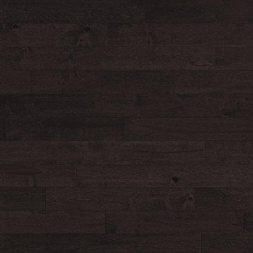 Brown Maple Hardwood flooring / Black Jelly Bean Mirage Sweet Memories