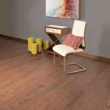 Brown Red Oak Hardwood flooring / Farnham Mirage Alive / Inspiration