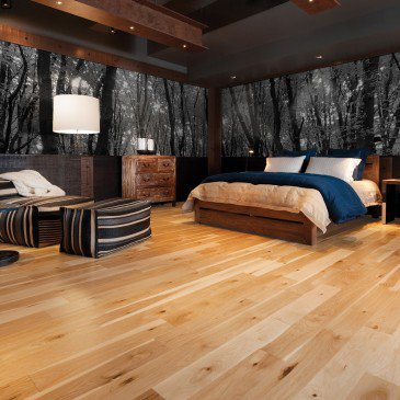 Natural Hickory Hardwood flooring / Natural Mirage Natural / Inspiration