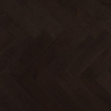 Grey Maple Hardwood flooring / Graphite Mirage Herringbone