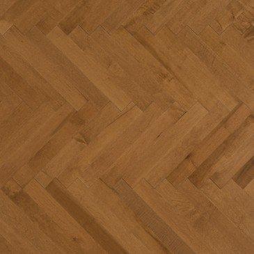 Golden Maple Hardwood flooring / Sierra Mirage Herringbone