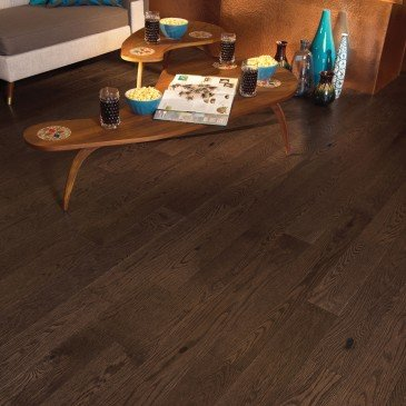 Brown Red Oak Hardwood flooring / Providence Mirage Escape / Inspiration