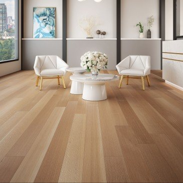 Natural White Oak Hardwood flooring / Natural Mirage Herringbone / Inspiration