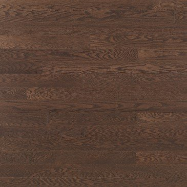 Brown Red Oak Hardwood flooring / Waterloo Mirage Admiration