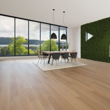 Natural White Oak Hardwood flooring / Natural Mirage Natural / Inspiration