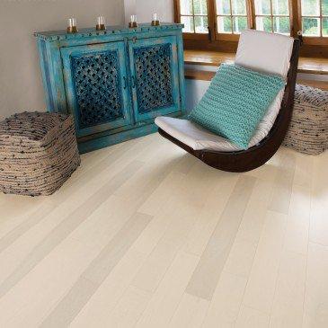 Beige Yellow Birch Hardwood flooring / Cape Cod Mirage Admiration / Inspiration