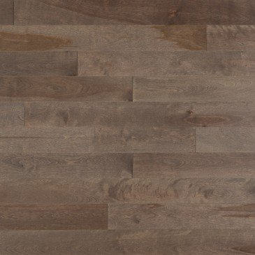 Brown Yellow Birch Hardwood flooring / Greystone Mirage Admiration