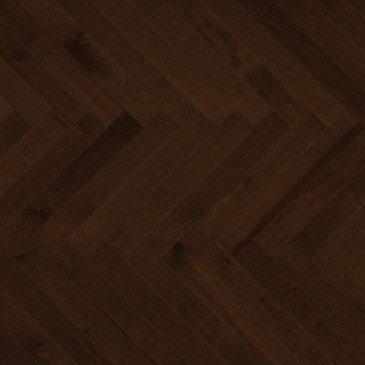 Planchers de bois franc Érable Brun / Mirage Herringbone Java