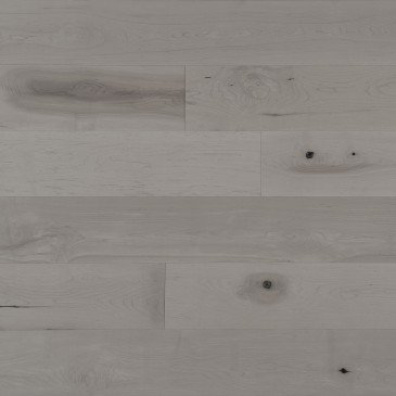 Brown Maple Hardwood flooring / Grey Drizzle Mirage Flair