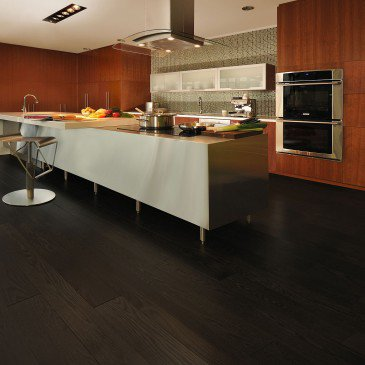 Chêne rouge Graphite Exclusive Lisse - Image plancher