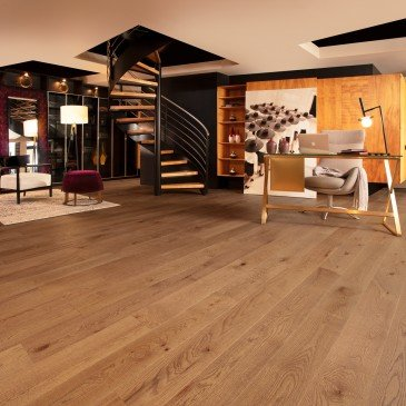 Grey Red Oak Hardwood flooring / Papyrus Mirage Imagine / Inspiration