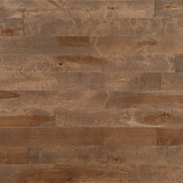 Brown Yellow Birch Hardwood flooring / Nougat Mirage Sweet Memories