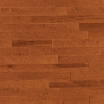 Orange Maple Hardwood flooring / Auburn Mirage Admiration