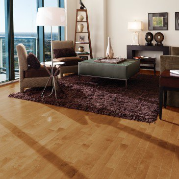 Golden Yellow Birch Hardwood flooring / Sierra Mirage Admiration / Inspiration