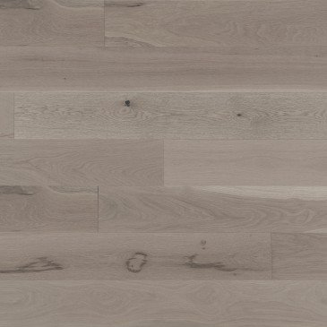 Brown White Oak Hardwood flooring / Grey Drizzle Mirage Flair