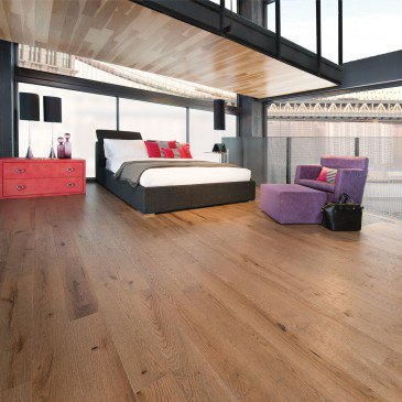 Brown Red Oak Hardwood flooring / Seashell Mirage Imagine / Inspiration