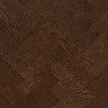 Planchers de bois franc Chêne Rouge Brun / Mirage Herringbone Havana