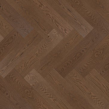Brown Red Oak Hardwood flooring / Savanna Mirage Herringbone