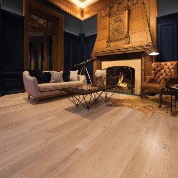 Planchers de bois franc Chêne Rouge Naturel / Mirage Herringbone Naturel / Inspiration