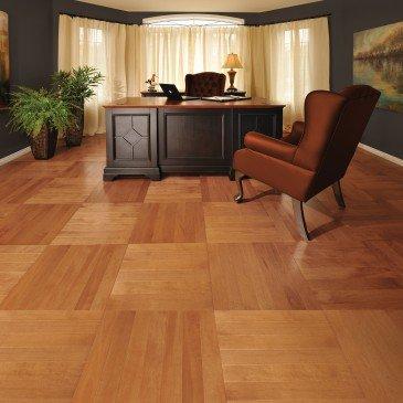 Orange Maple Hardwood flooring / Nevada Mirage Herringbone / Inspiration