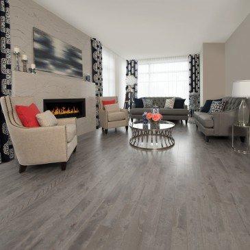 Grey Yellow Birch Hardwood flooring / Peppermint Mirage Sweet Memories / Inspiration