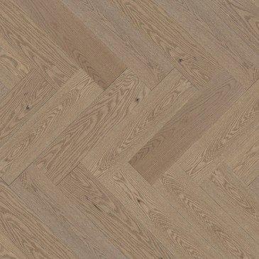 Planchers de bois franc Chêne Rouge Beige / Mirage Herringbone Rio