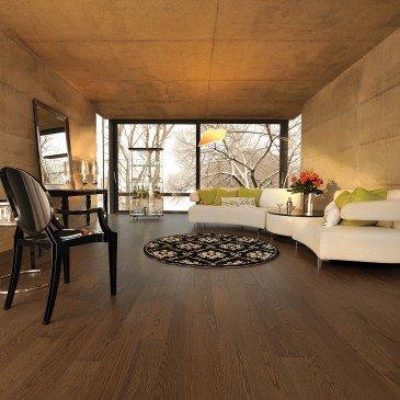 Planchers de bois franc Chêne Rouge Brun / Mirage Herringbone Umbria / Inspiration