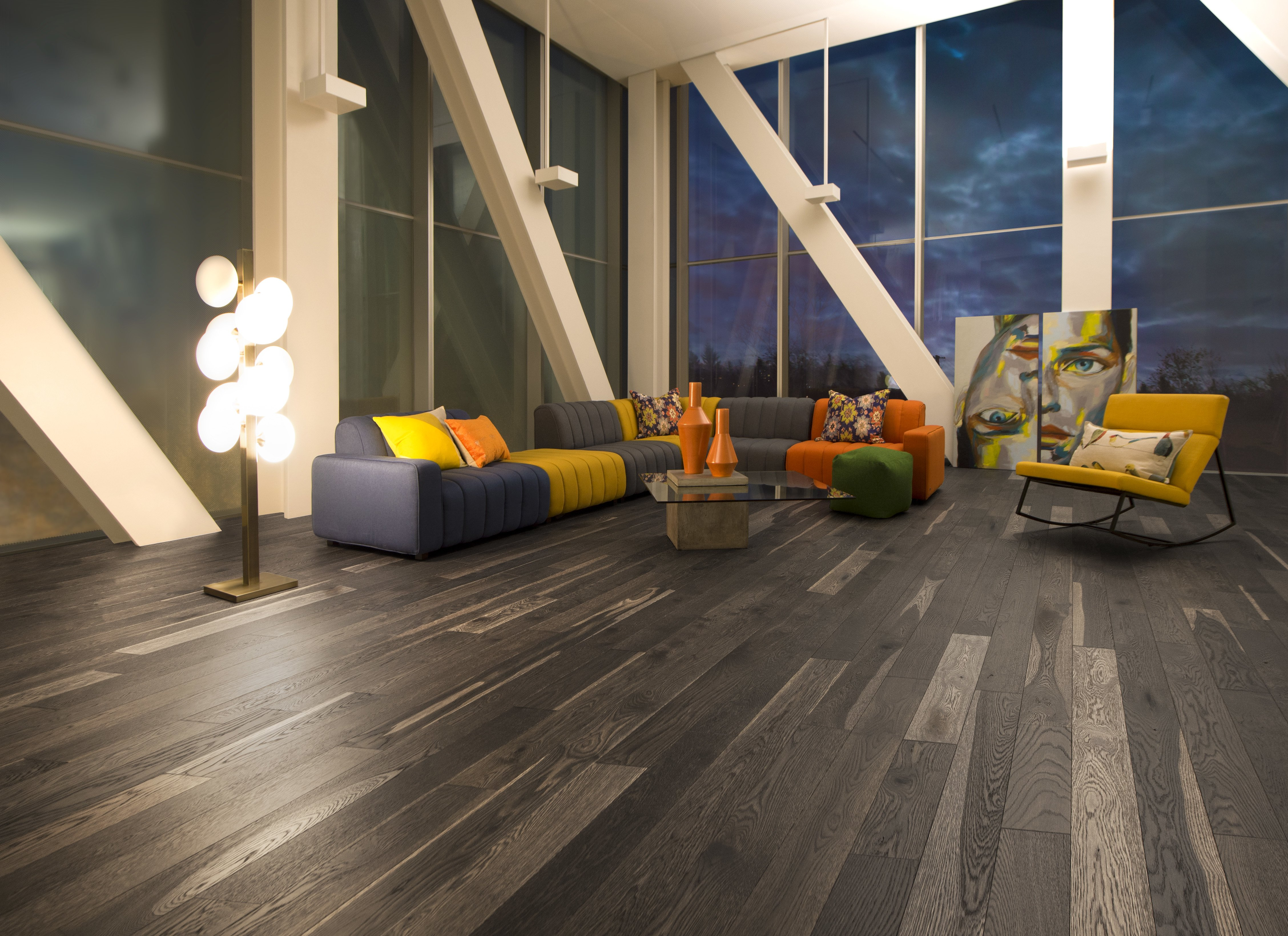 White Oak Lunar Eclipse Character Brushed - Ambience image