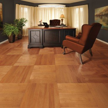 Orange Maple Hardwood flooring / Nevada Mirage Herringbone / Inspiration