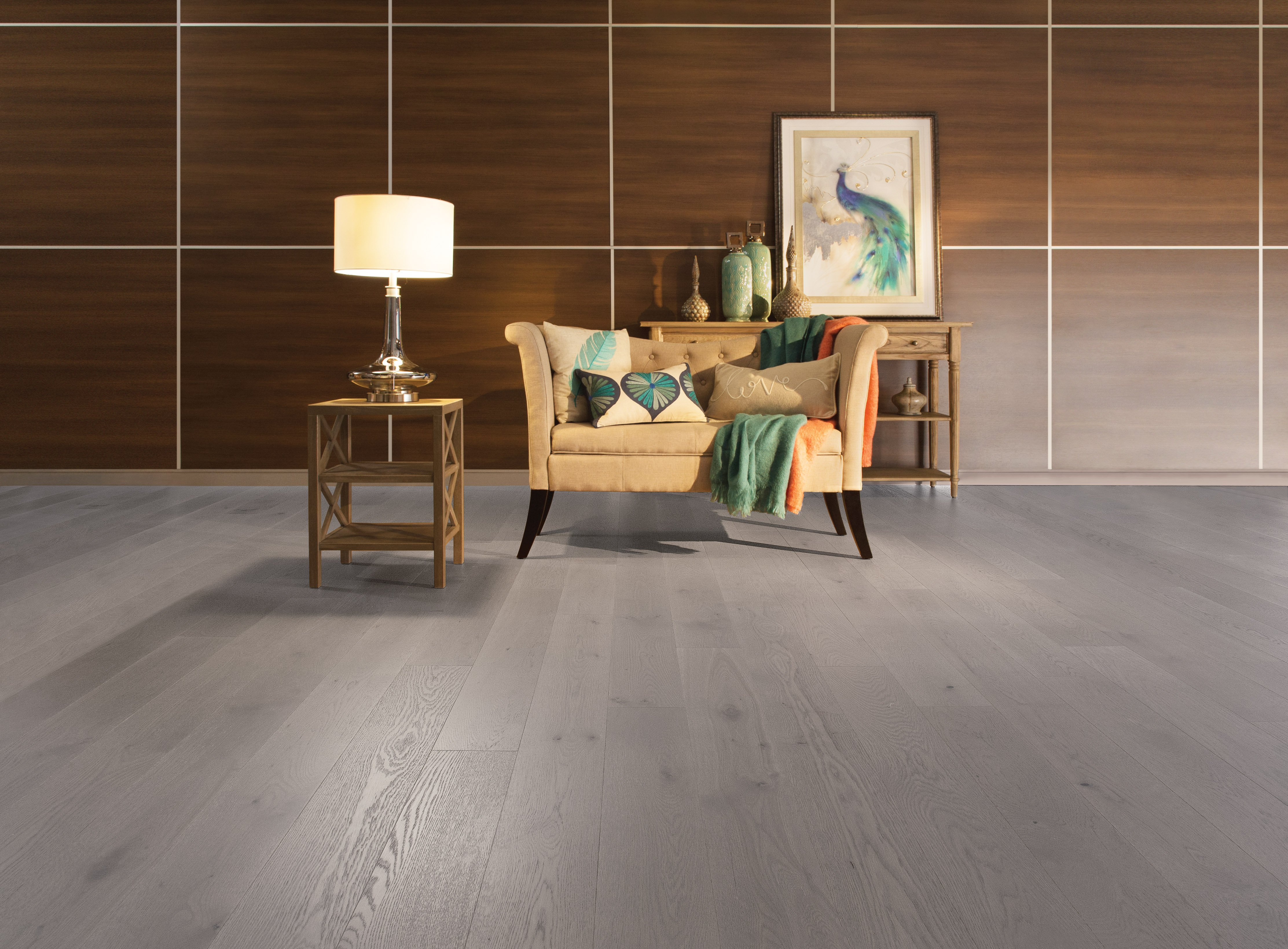 White Oak Grey Drizzle Character Brushed - Ambience image