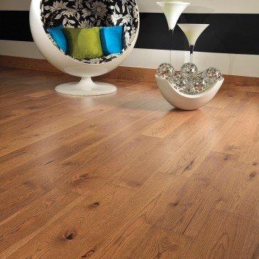 Planchers de bois franc Hickory Doré / Mirage Herringbone Sierra / Inspiration