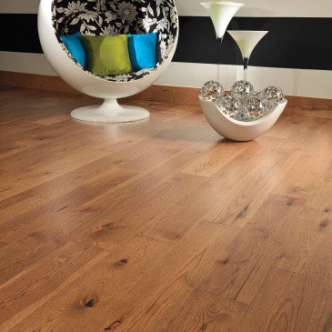 Hickory Sierra Character Smooth - Floor image