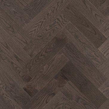 Planchers de bois franc Chêne Rouge Brun / Mirage Herringbone Charcoal