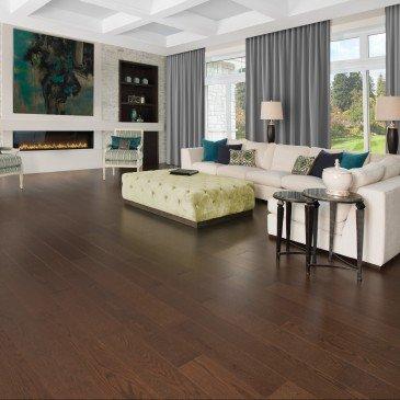 Brown Red Oak Hardwood flooring / Havana Mirage Herringbone / Inspiration