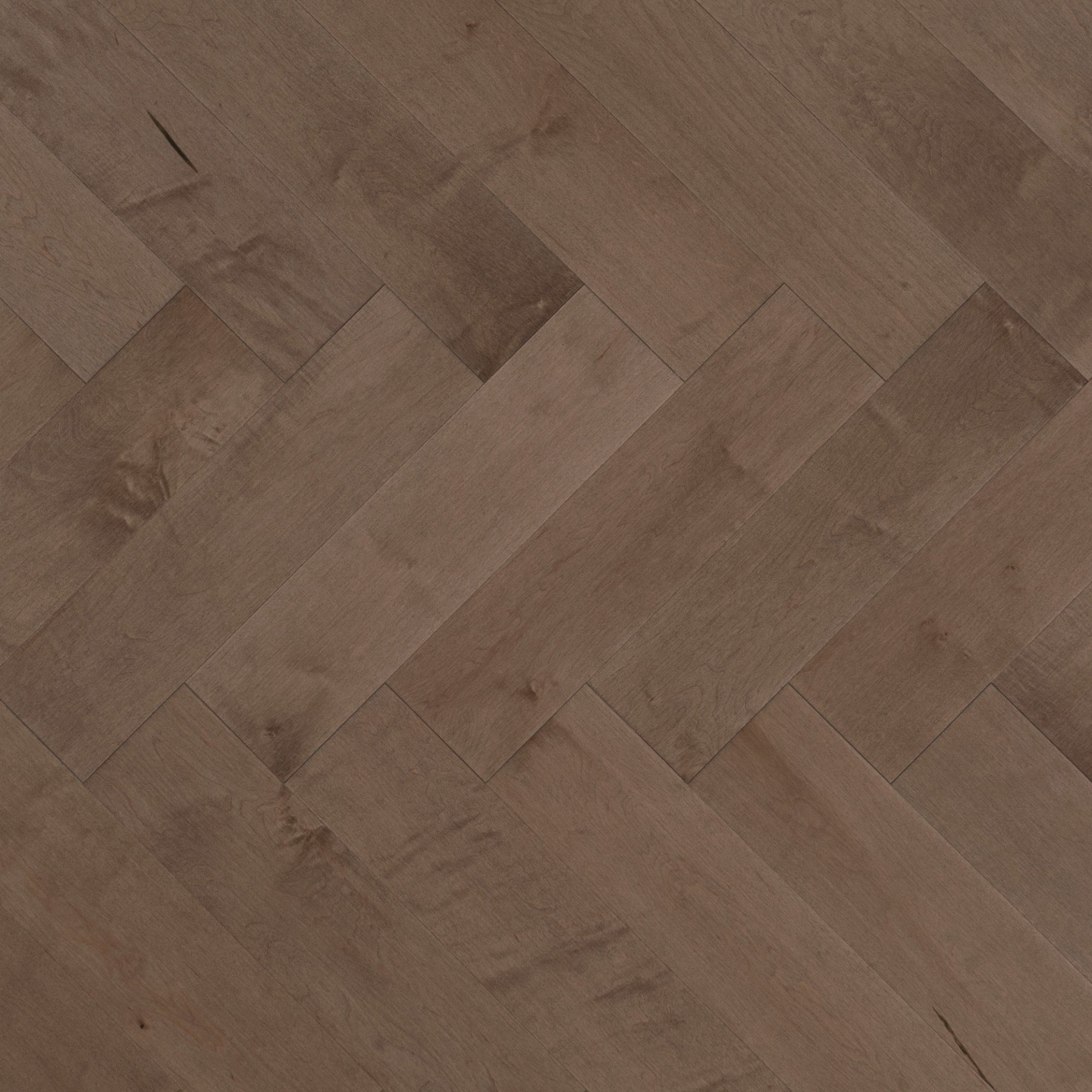 Herringbone maple greystone mirage hardwood floors for Mirage wood floors