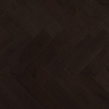 Grey Maple Hardwood flooring / Graphite Mirage Herringbone