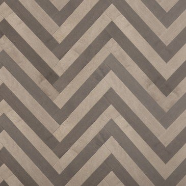 Grey Maple Hardwood flooring / Platinum Mirage Herringbone