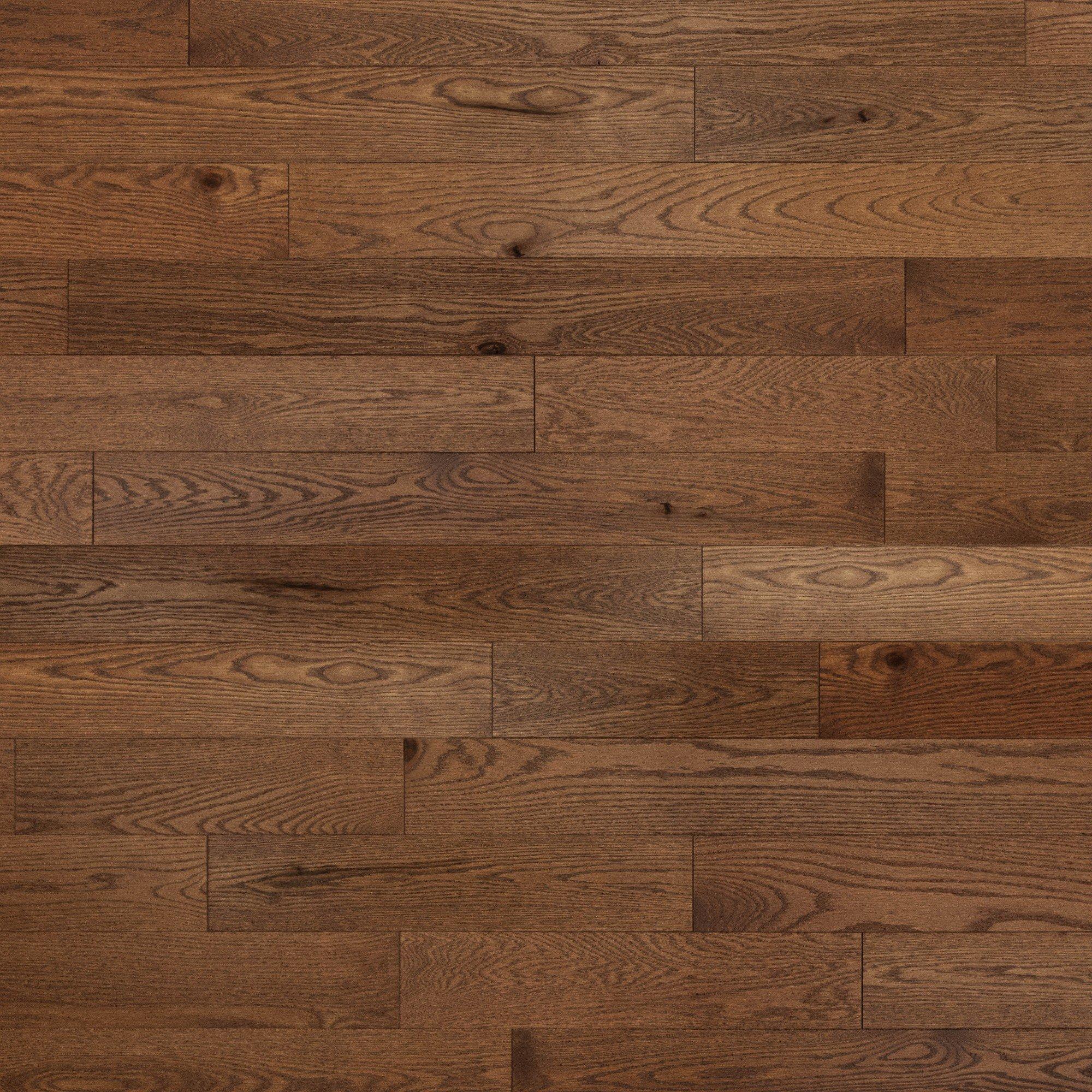 Chêne rouge Cold Springs Caractère Brossé - Image plancher