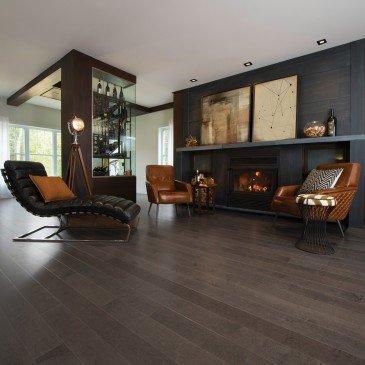 Grey Maple Hardwood flooring / Charcoal Mirage Herringbone / Inspiration