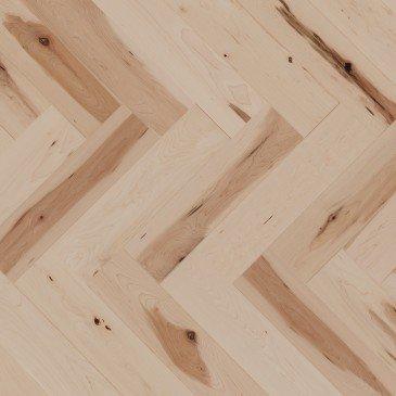 Natural Maple Hardwood flooring / Natural Mirage Herringbone