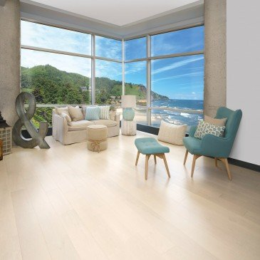 Beige Maple Hardwood flooring / Cape Cod Mirage Admiration / Inspiration