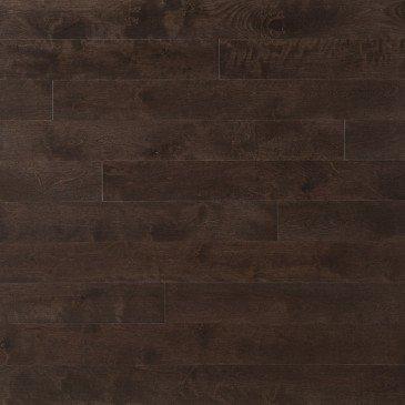 Yellow Birch Hardwood flooring / Black Jelly Bean Mirage Sweet Memories