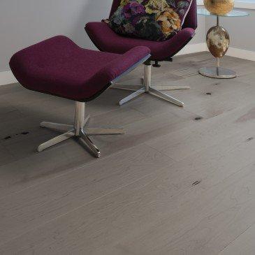 Planchers de bois franc Érable Brun / Mirage Herringbone Grey Drizzle / Inspiration